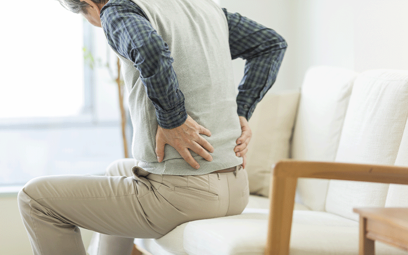 Chiropractie bij klachten door acute lage rugpijn